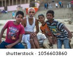 varanasi  india   mar 16  2018  ... | Shutterstock . vector #1056603860