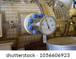 temperature gage install with... | Shutterstock . vector #1056606923