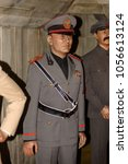 Small photo of MADRID, SPAIN - MAR 28, 2018: Benito Amilcare Andrea Mussolini, the leader of the National Fascist Party, Second World War section, Wax Museum, Madrid