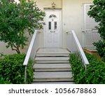 athens greece  contemporary... | Shutterstock . vector #1056678863