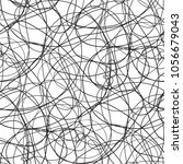 seamless chaos pattern....   Shutterstock .eps vector #1056679043
