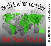 world environment day vector... | Shutterstock .eps vector #1056682898