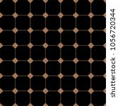 vintage black and gold tiles... | Shutterstock .eps vector #1056720344