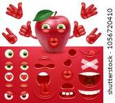 emoji  smiley creator from... | Shutterstock .eps vector #1056720410