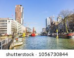 rotterdam  the netherlands  ... | Shutterstock . vector #1056730844