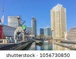 rotterdam  the netherlands  ... | Shutterstock . vector #1056730850