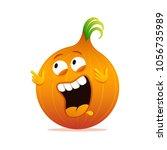 happy onion cartoon funny...
