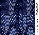 geometric seamless pattern. ... | Shutterstock .eps vector #1056742208