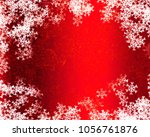 snowflake background design | Shutterstock . vector #1056761876