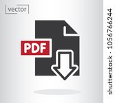 simple icon vector   flat...   Shutterstock .eps vector #1056766244
