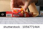 paris  france   feb 17  2018 ...   Shutterstock . vector #1056771464