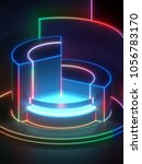 3d rendering  modern abstract...   Shutterstock . vector #1056783170