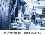 chassis of the electric  hybrid ... | Shutterstock . vector #1056802769