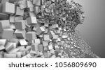 artificial intelligence ai deep ...   Shutterstock . vector #1056809690
