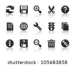universal software icons | Shutterstock .eps vector #105683858