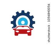 automotive gear logo icon design | Shutterstock .eps vector #1056840056
