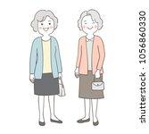 vector illustration character... | Shutterstock .eps vector #1056860330