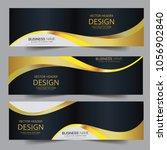 abstract banner header web... | Shutterstock .eps vector #1056902840