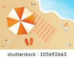 beach | Shutterstock .eps vector #105692663