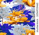 geometrical seamless pattern... | Shutterstock . vector #1056955460