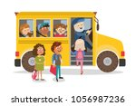 children's characters. the... | Shutterstock .eps vector #1056987236