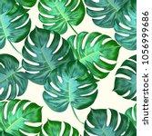 seamless pattern of bright... | Shutterstock .eps vector #1056999686