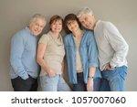 Group of senior people ...