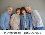 group of senior people ...   Shutterstock . vector #1057007078