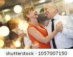 Romantic Senior Couple Dancing...