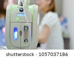 oxygen concentrator bar gage...   Shutterstock . vector #1057037186