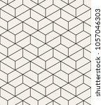 vector seamless pattern. modern ... | Shutterstock .eps vector #1057046303