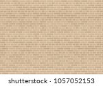 vector seamless english garden... | Shutterstock .eps vector #1057052153