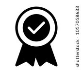 quality verified badge | Shutterstock .eps vector #1057058633