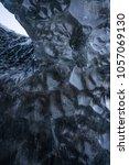 detail of ice texture in ice... | Shutterstock . vector #1057069130