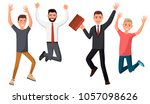 vector illustration of men in... | Shutterstock .eps vector #1057098626