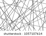 random chaotic lines abstract... | Shutterstock .eps vector #1057107614