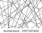 random chaotic lines abstract... | Shutterstock .eps vector #1057107620