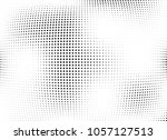 abstract halftone wave dotted... | Shutterstock .eps vector #1057127513