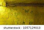 Scuffed Wall In Underground...