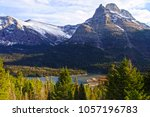 glacier national park  montana  ... | Shutterstock . vector #1057196783