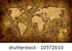 world map textures and... | Shutterstock . vector #10572010