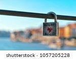 locked love keypad | Shutterstock . vector #1057205228