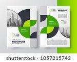flyer brochure design template...   Shutterstock .eps vector #1057215743