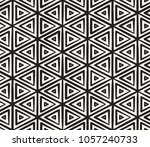 hand drawn black and white ink... | Shutterstock .eps vector #1057240733
