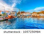 bozcaada  turkey   october 21 ...   Shutterstock . vector #1057250984