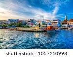 bozcaada  turkey   october 21 ... | Shutterstock . vector #1057250993