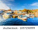 bozcaada  turkey   october 21 ... | Shutterstock . vector #1057250999