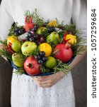 edible arrangements  edible... | Shutterstock . vector #1057259684