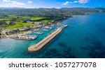 aerial bird's eye view of... | Shutterstock . vector #1057277078