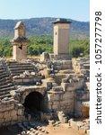 Small photo of Ancient Lycian capital Xanthos in Patara, Antalya, Turkey